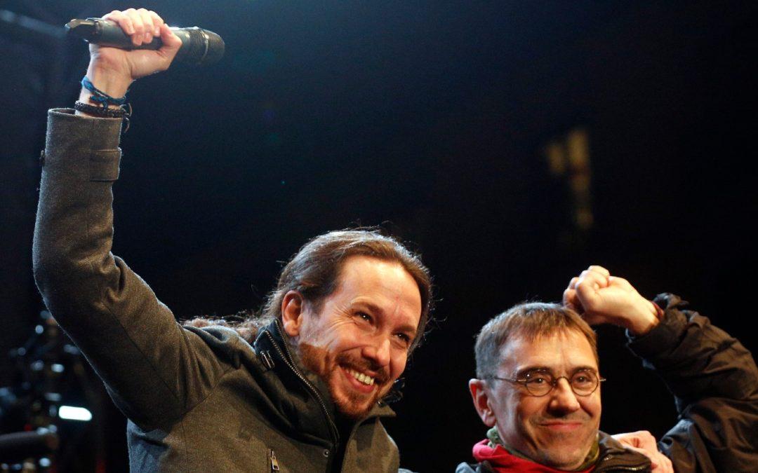 """El antifascismo """"eterno"""" de Podemos"""